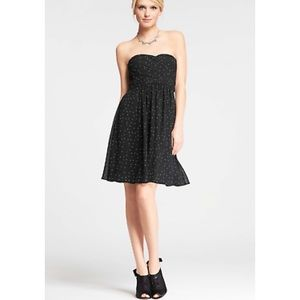 ANN TAYLOR | NWT Polka Dot Strapless Dress